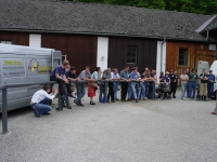 In der Pferdeklinik Tillysburg