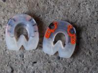 Duplo Kunststoffbeschlag mit eingearbetem Blechkern der zusätzliche Stabilität gibt.